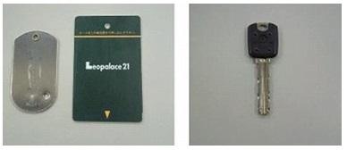 Esses tipos(Cartão chave, dimple chave)chave, não são possíveis fazer cópias